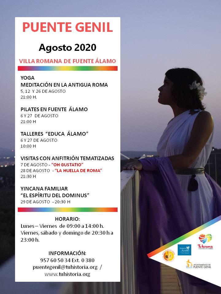 Actividades agosto 2020