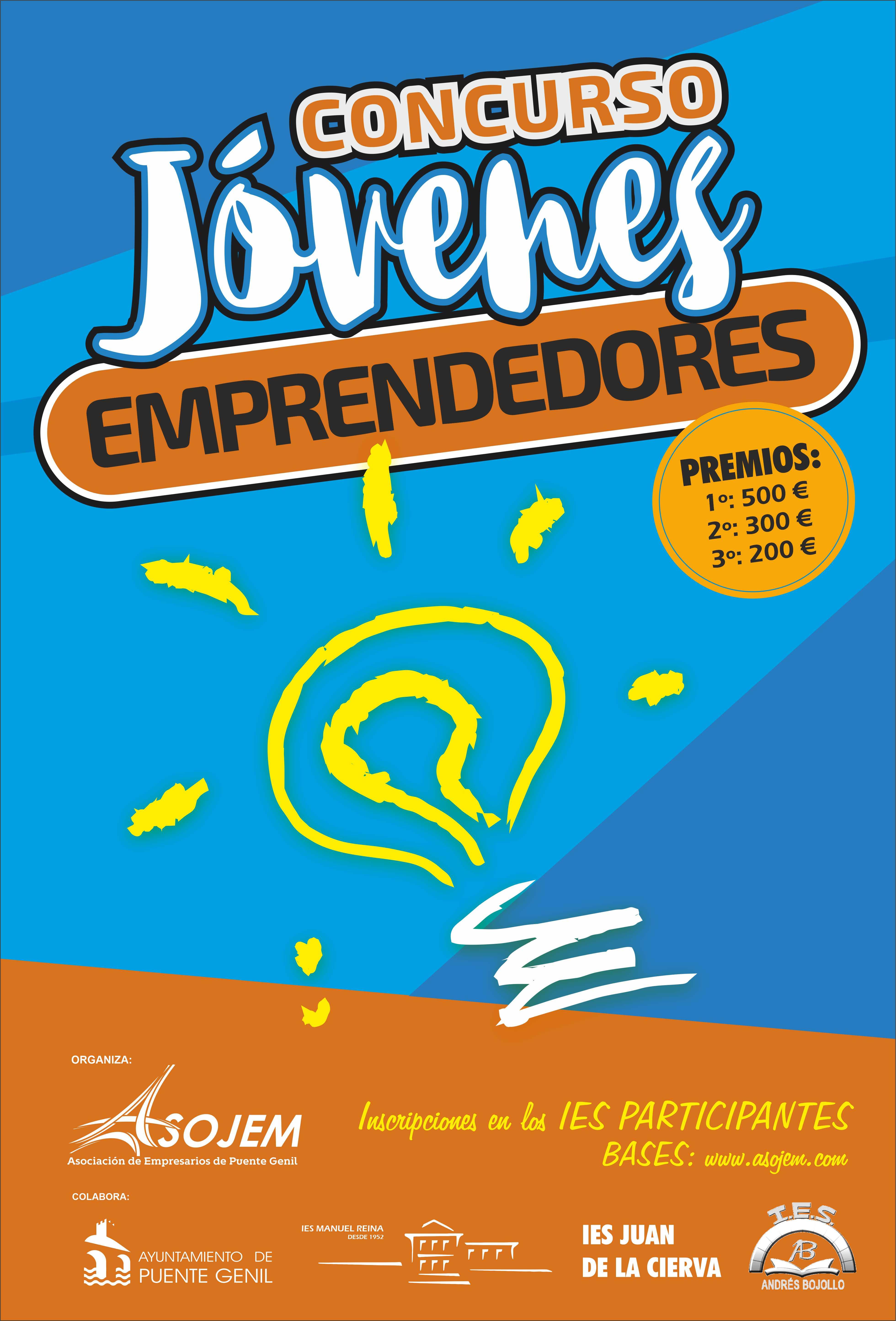 Cartel I Concurso Jóvenes Emprendedores