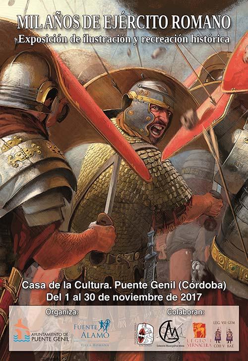 Cartel mil años ejército romano