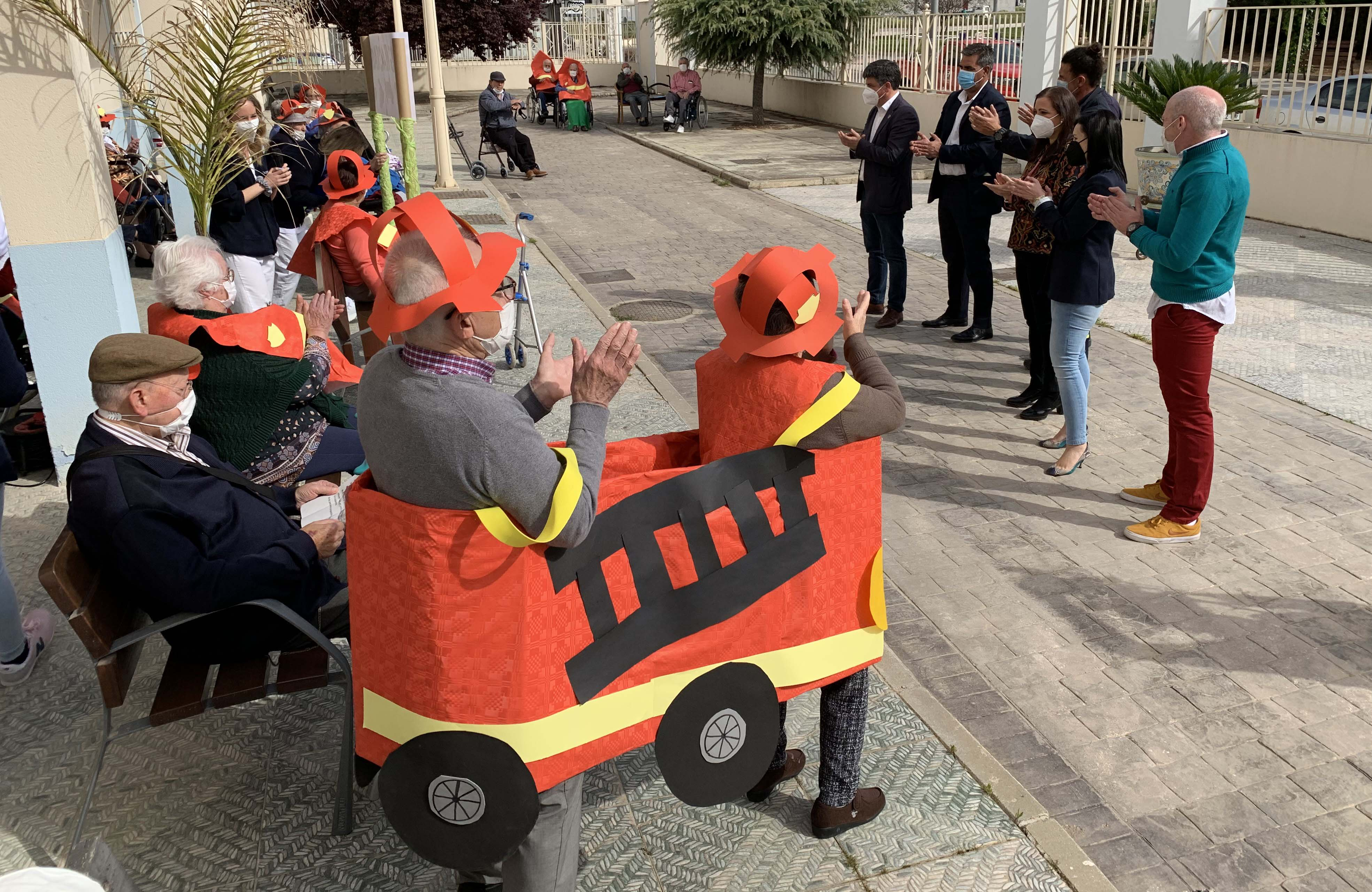 Acto de reconocimiento a los bomberos