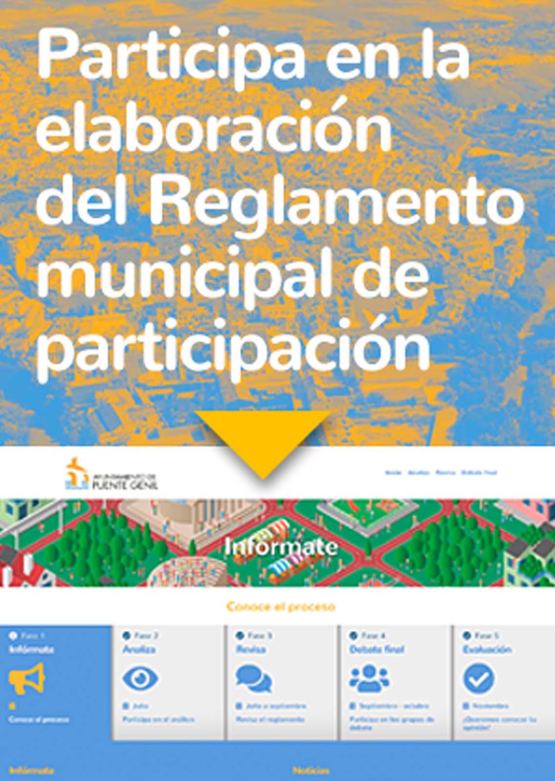 Banner reglamento participación ciudadana