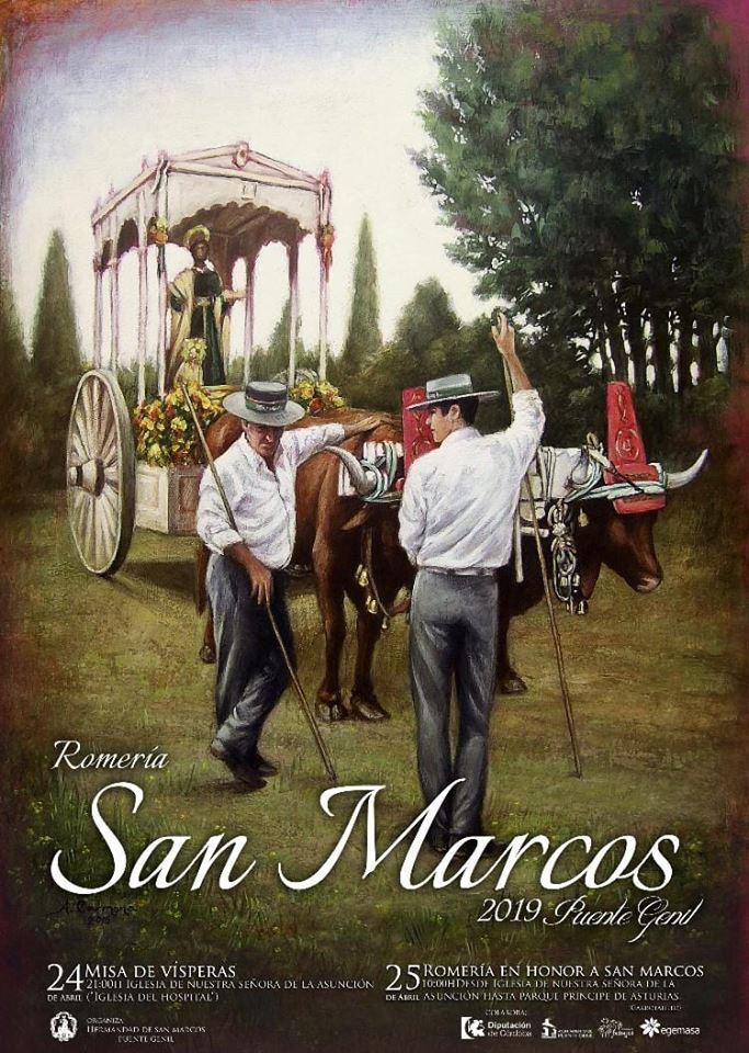 Cartel Romería de San Marcos 2019