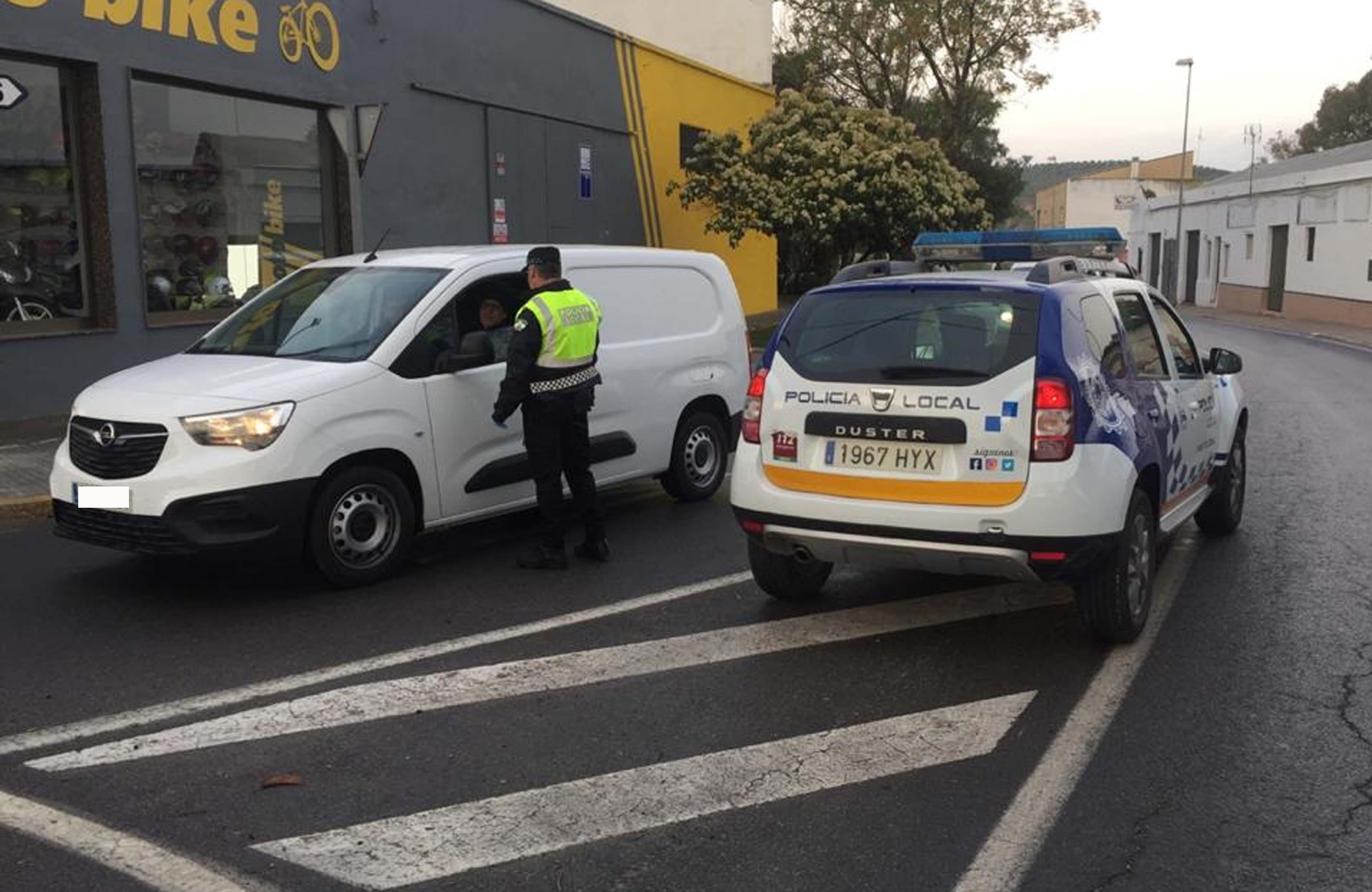 Controles de la Policía Local