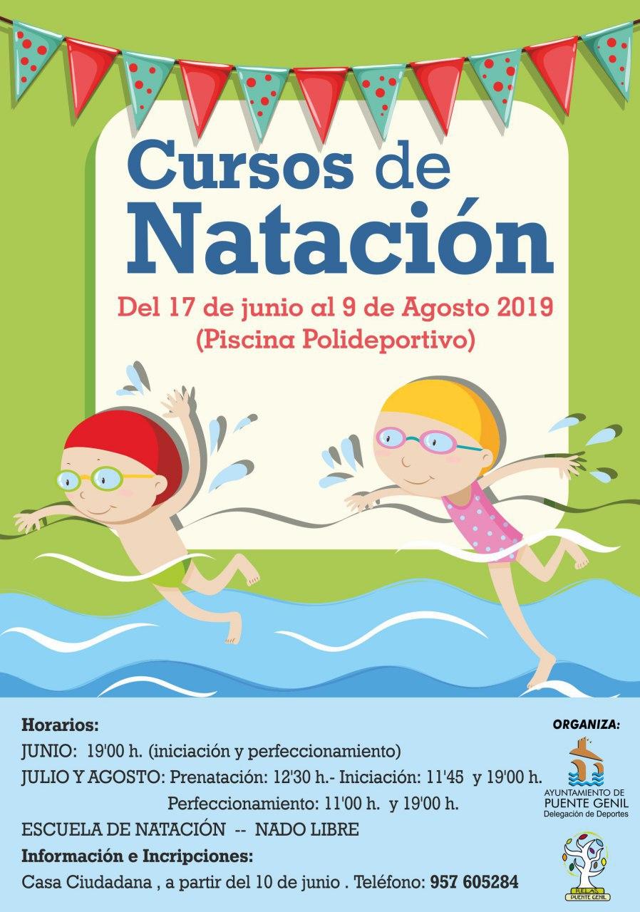 Curso de Natación Piscina al aire libre. Verano 2019