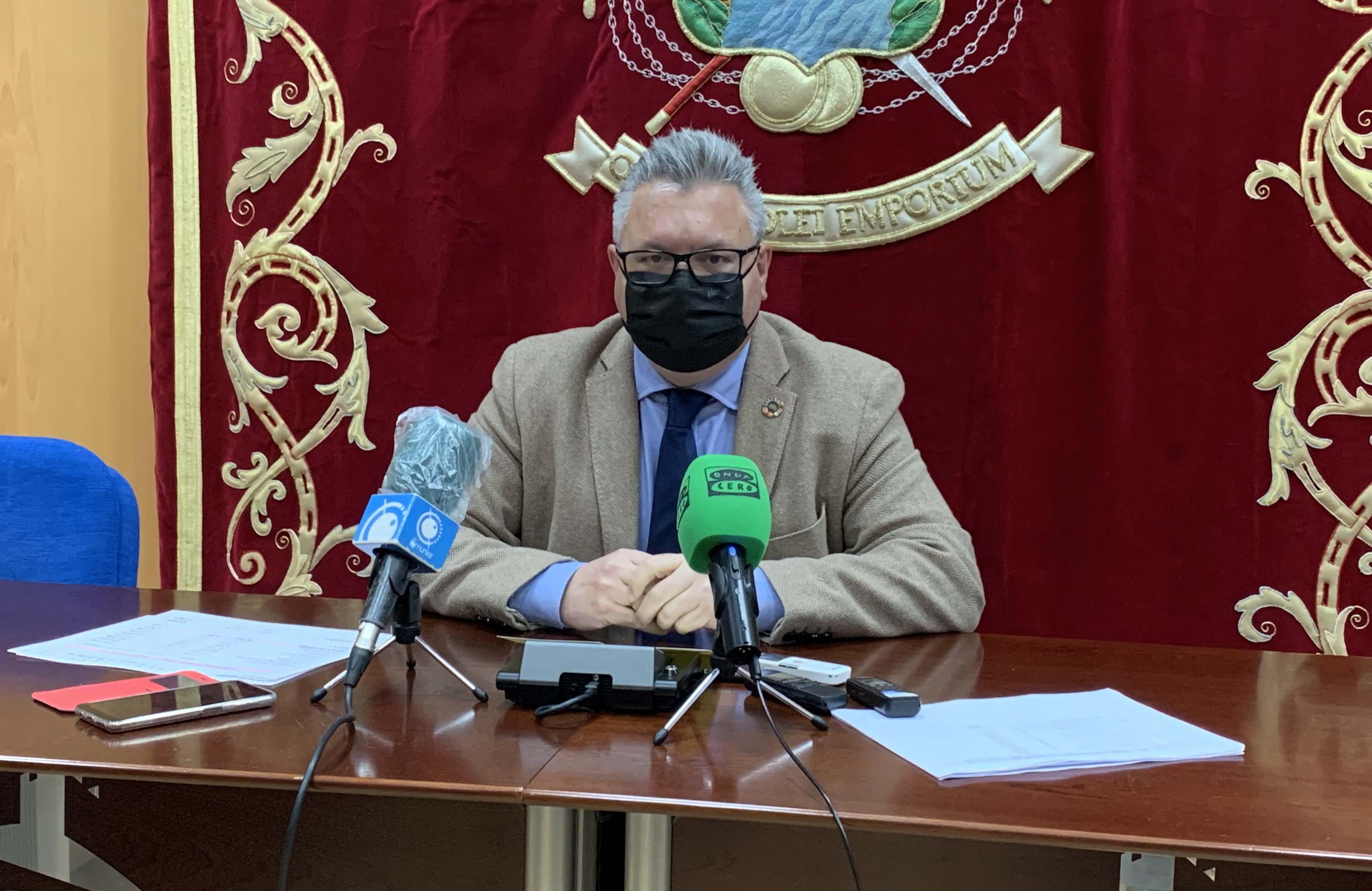 El alcalde presenta las líneas del presupuesto