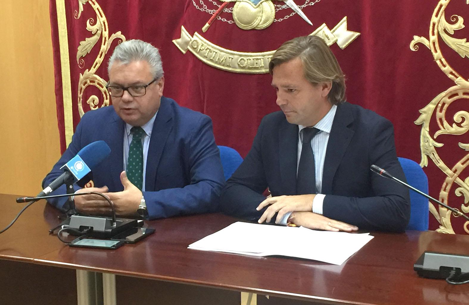 Esteban Morales y Antonio Repullo