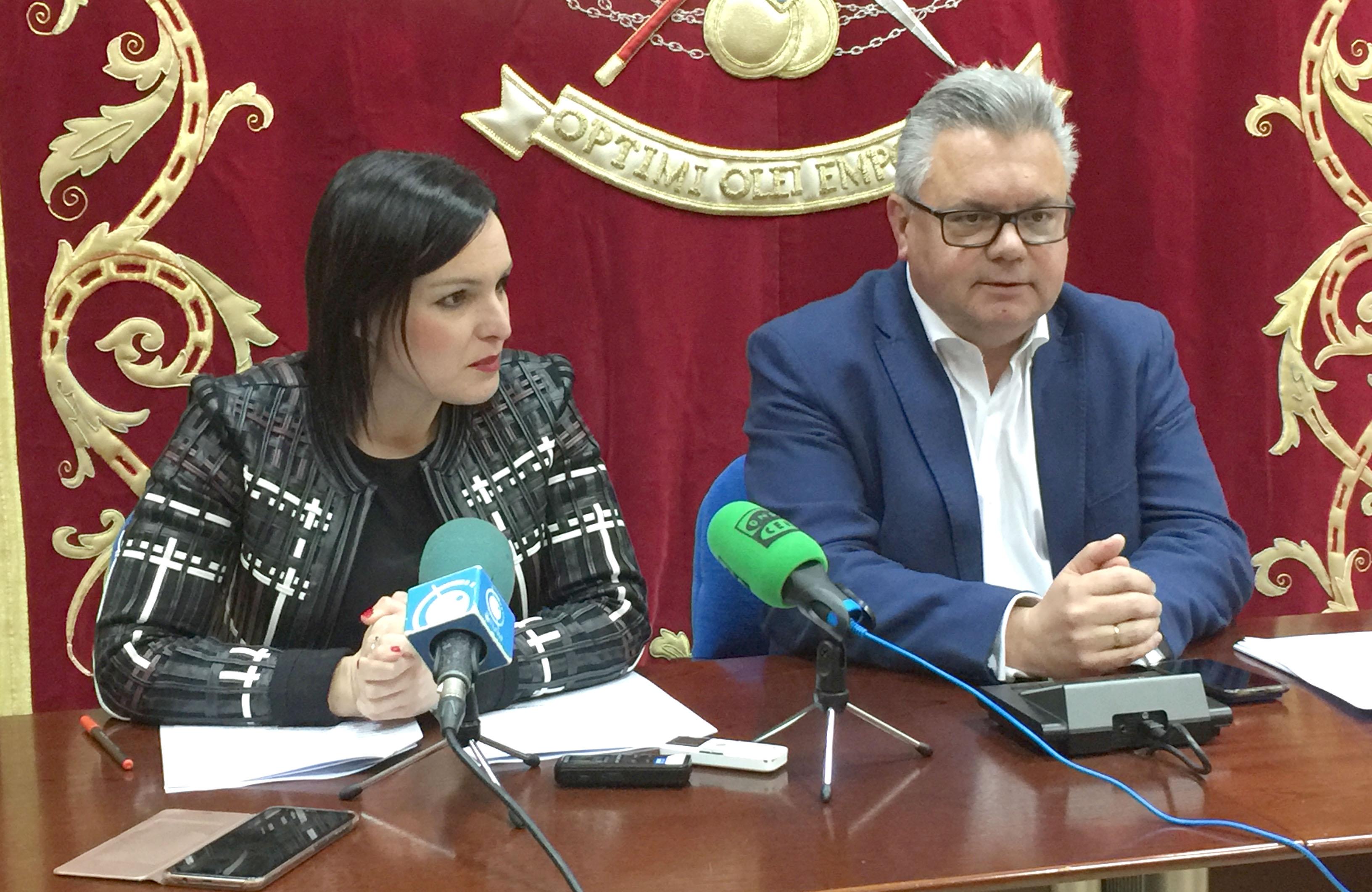 Esteban Morales y Verónica Morillo