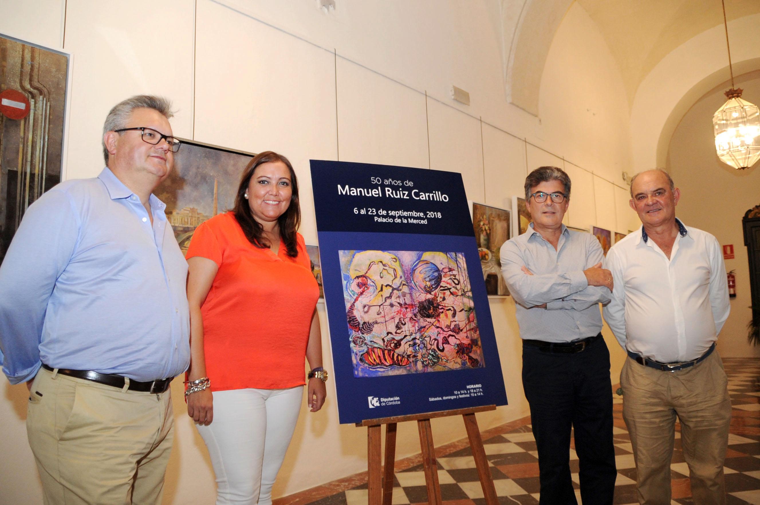 Exposición 50 años de Manuel Ruiz Carrillo