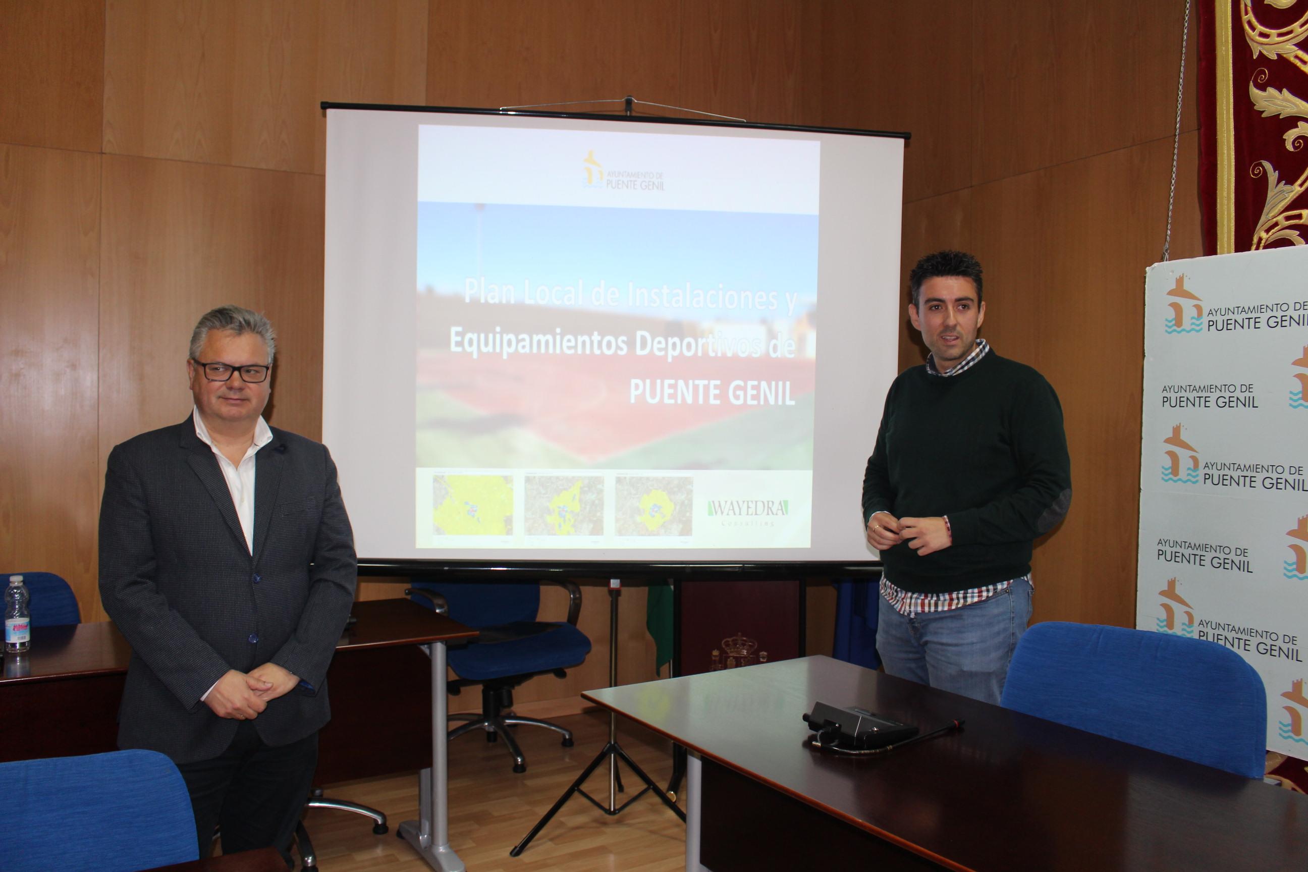 El alcalde y el concejal de Deportes presentan el Plan local de instalaciones y equipamientos deportivos