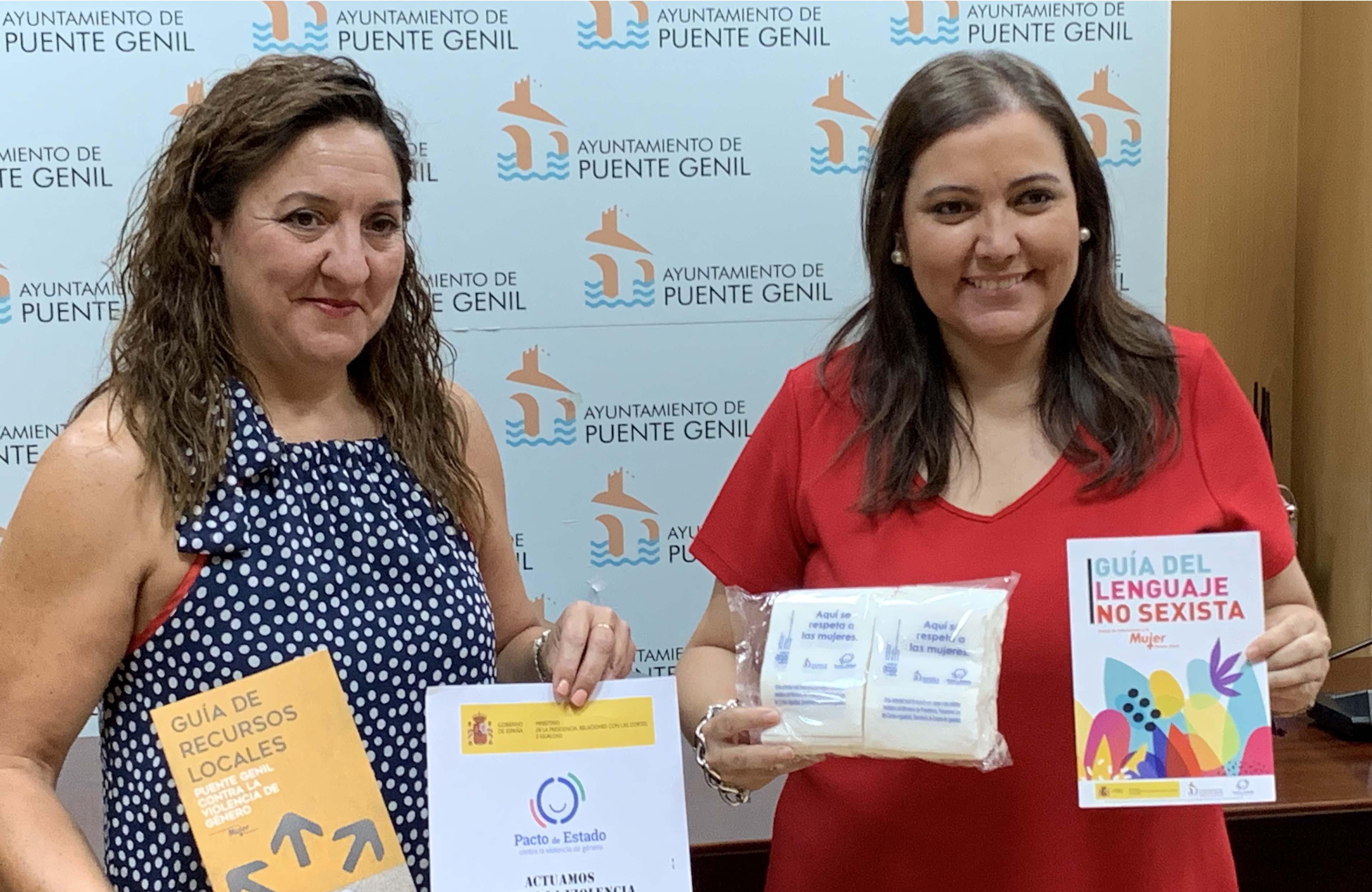 Mariola González y Ana Carrillo