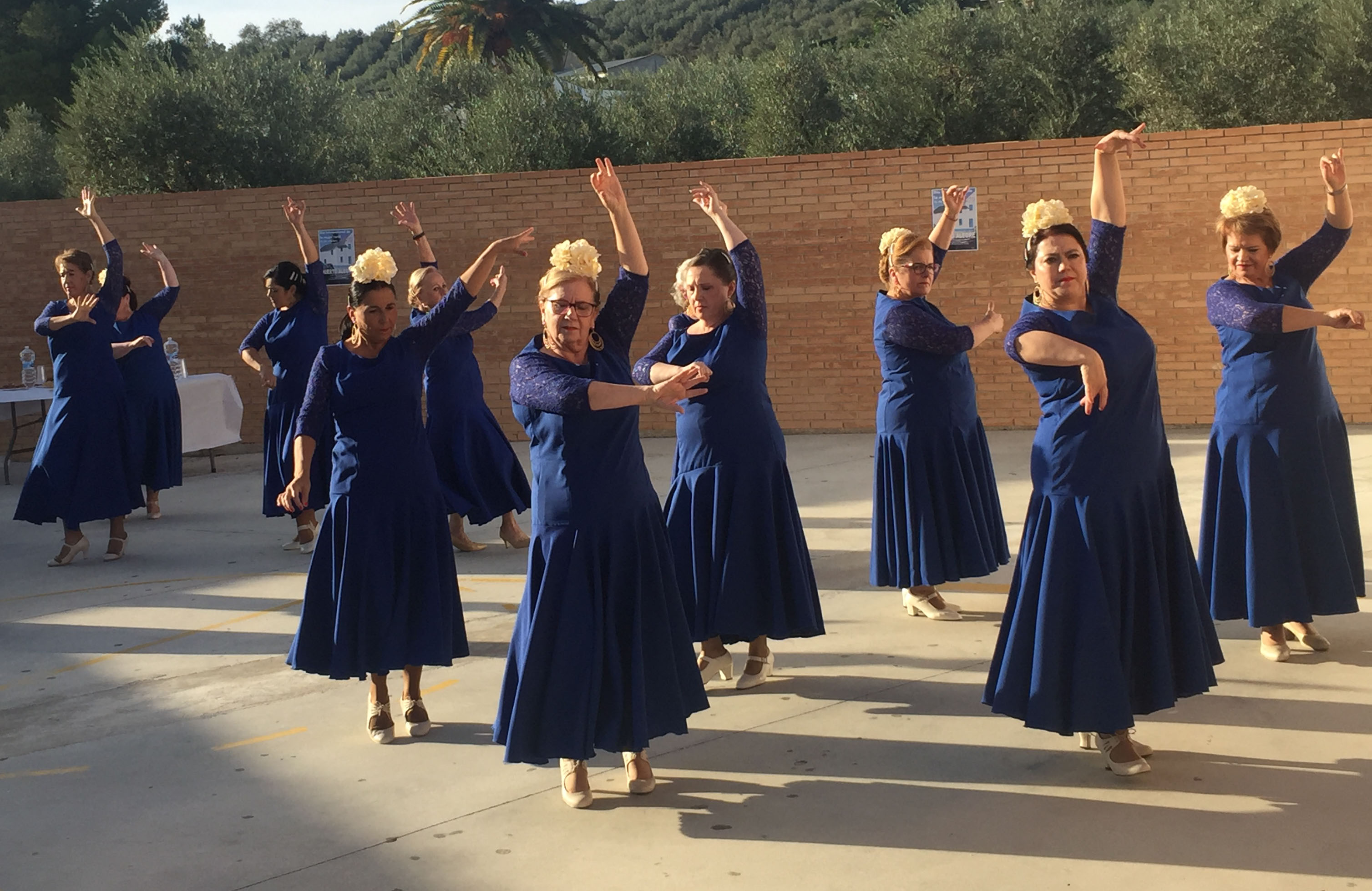 Mujeres del Grupo Ponte Flamenca