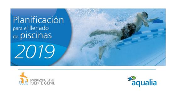 Planificación llenado de piscinas en Puente Genil 2019
