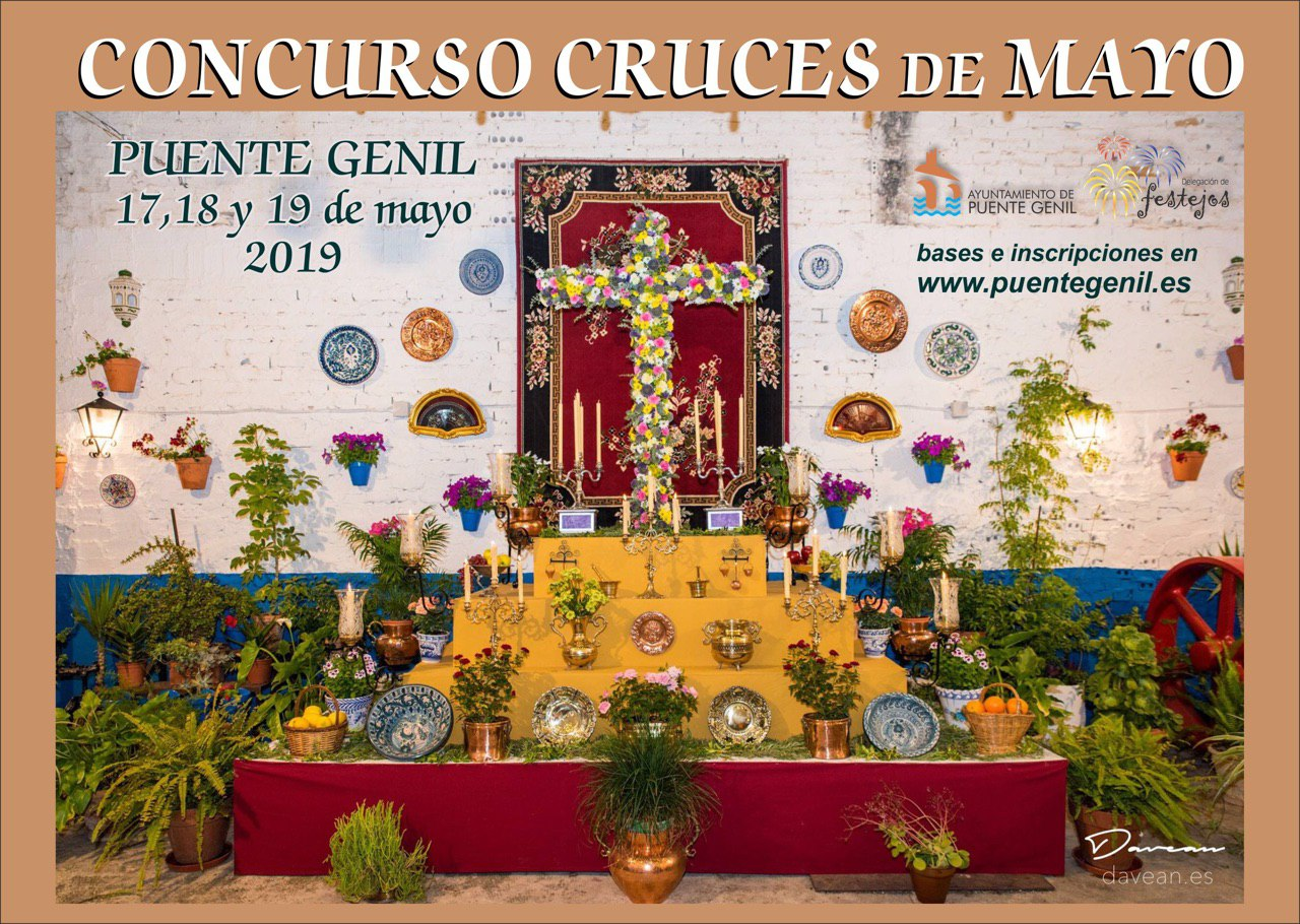 Cartel Cruces de Mayo 2019