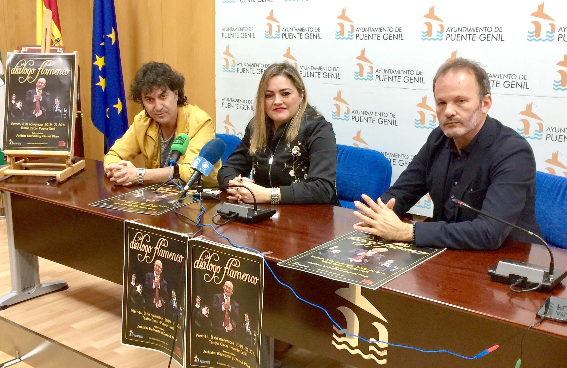 Presentación de diálogo flamenco