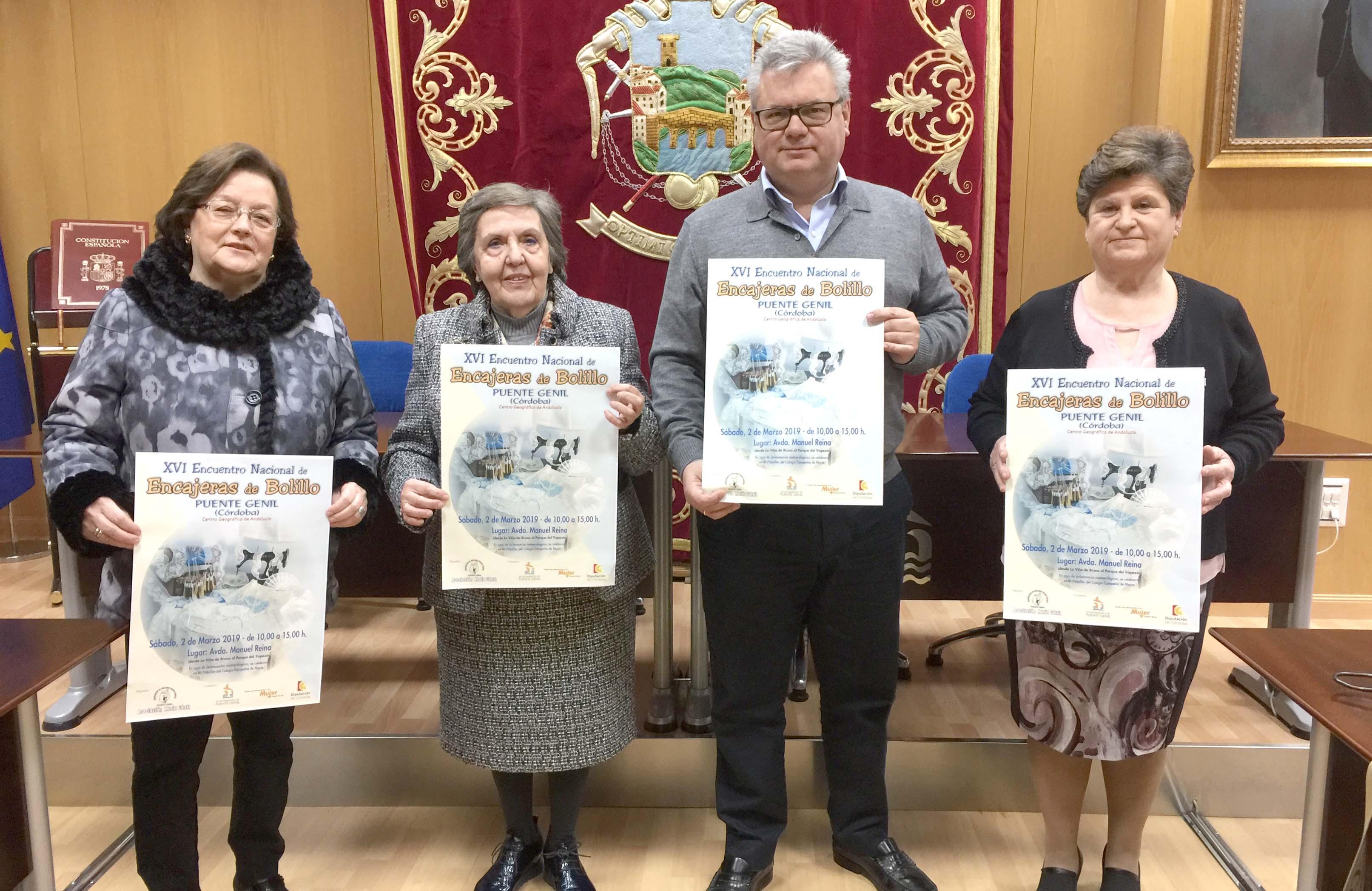 Presentación del Encuentro Nacional de Bolillo 2019