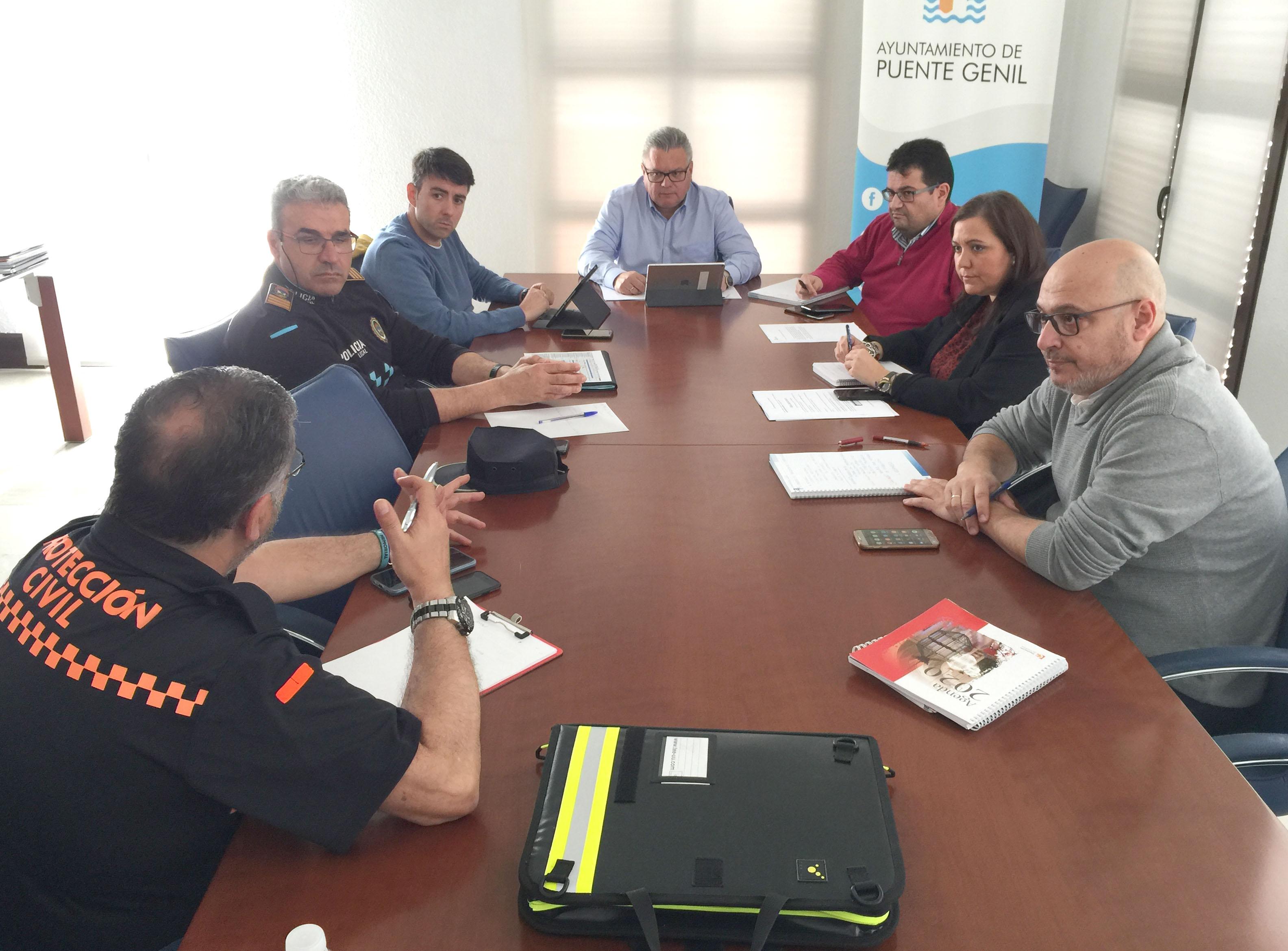 Primera reunión de la Comisión para la Seguiridad