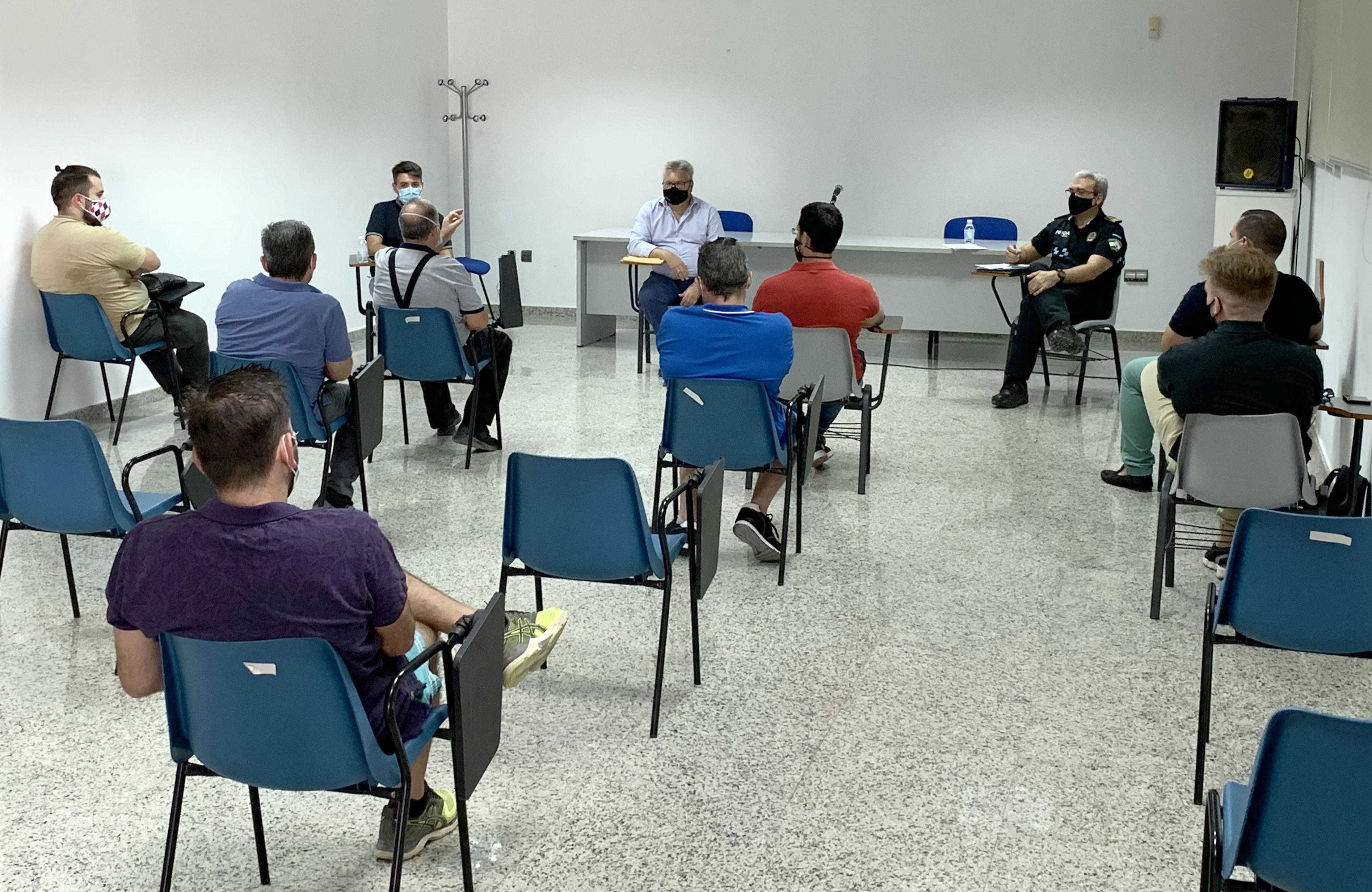 Reunión con los representantes hosteleros