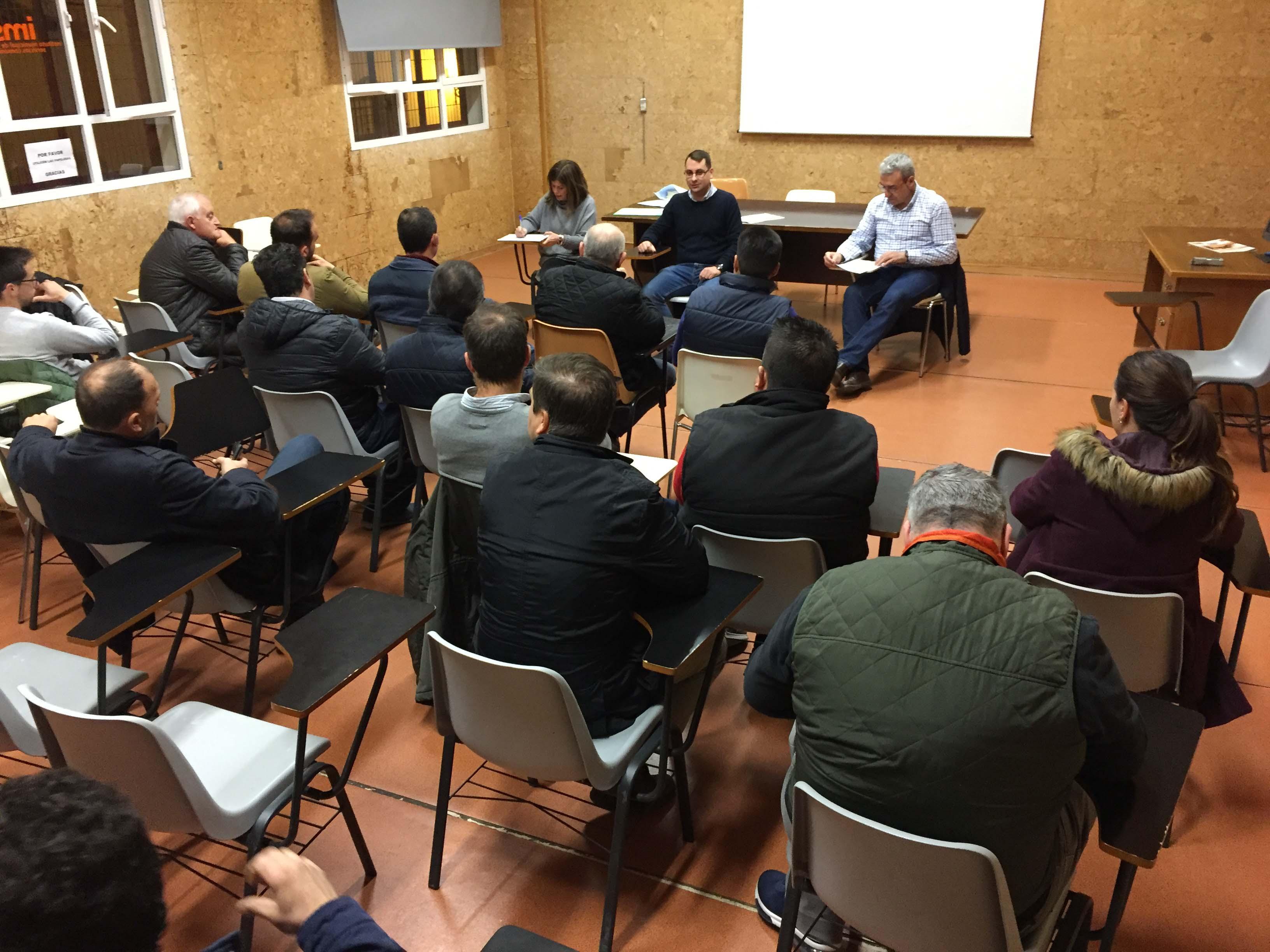 Reunión en la Casa Ciudadana