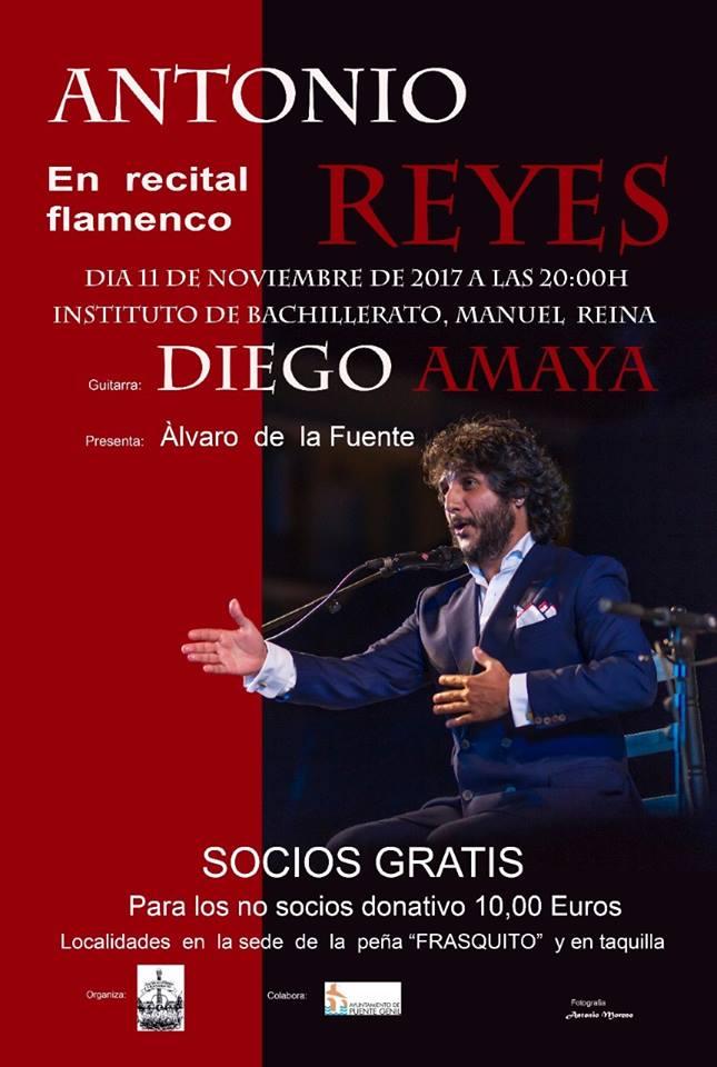Recital flamenco de Antonio Reyes