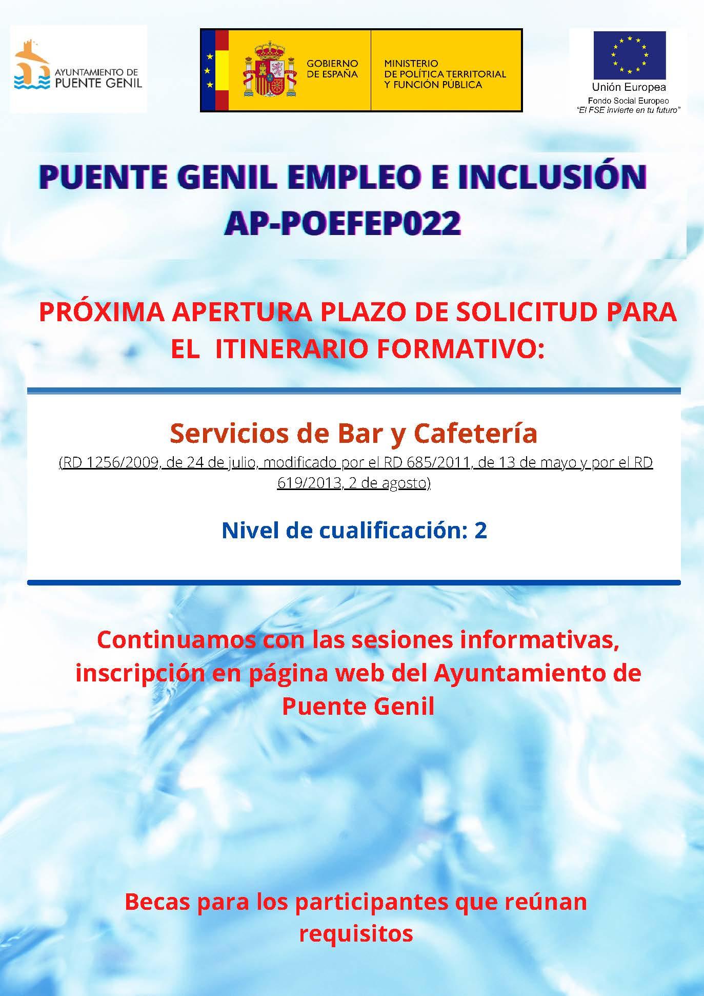 Servicios Bar Cafetería