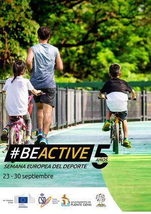 Cartel Semana Europea del Deporte 2019