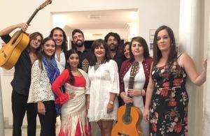 Los jóvenes flamencos en el Teatro Circo