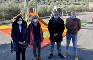 Nuevo parque infantil en Sotogordo