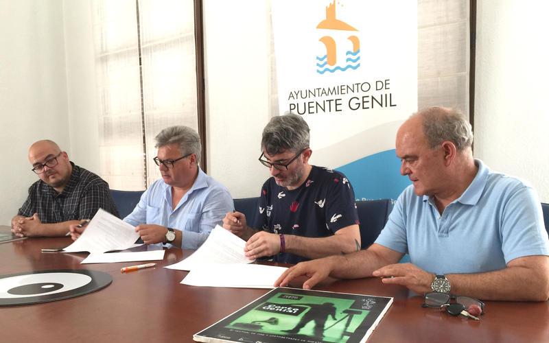 Firma de convenio entre Ayuntamiento y CortogeniAl