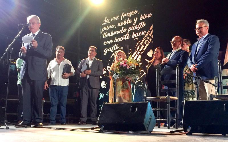 Homenaje al cantaor Pedro Lavado