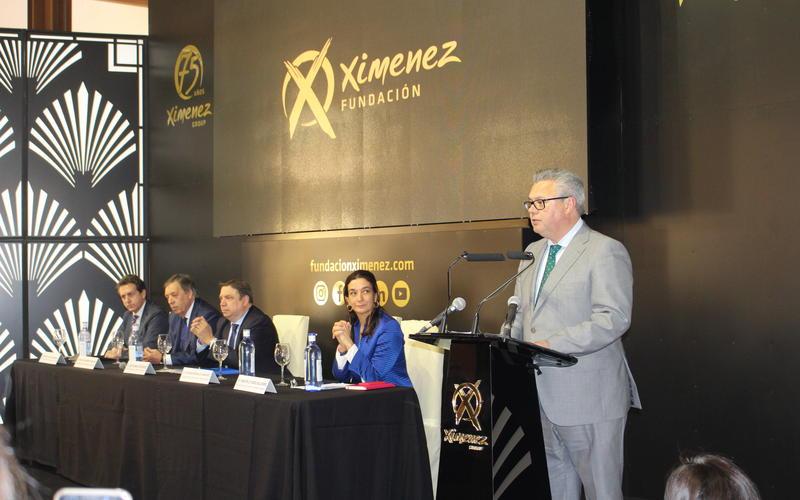 Esteban Morales, en su intervención durante la apertura del acto