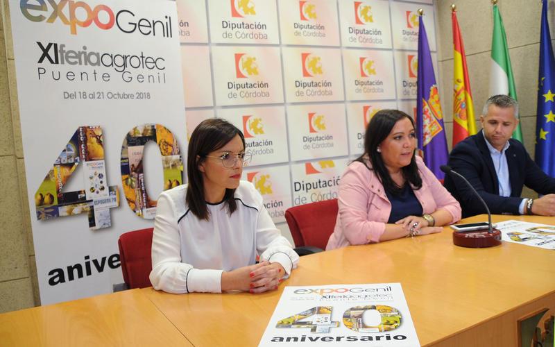 Presentación de Expogenil en la Diputación de Córdoba