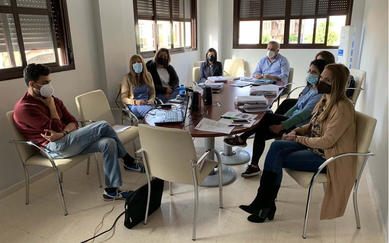 Reunión de la Comisión de Igualdad