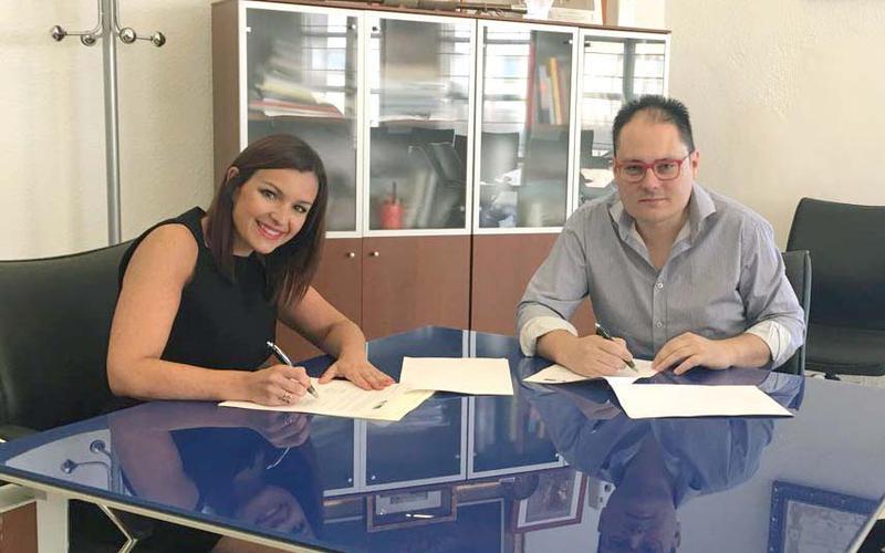 Verónica Morillo y José Florencio Bedmar