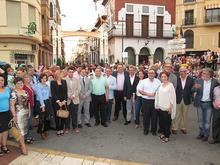 Foto de grupo tras el encendido