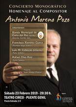 Concierto monográfico homenaje al compositor Antonio Moreno Pozo