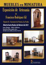 Exposición de muebles en miniatura