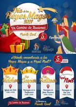 Cartel Día de los Reyes Magos