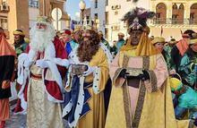 Los reyes camino de Miragenil