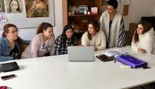 Participantes en el taller laboral