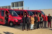 Presentación de los nuevos autobuses urbanos