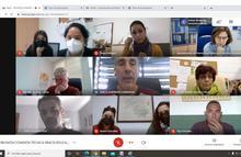Reunión de comisión Eracis