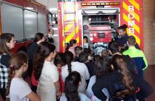 Visita al parque de bomberos