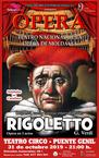 Cartel Ópera Rigoletto