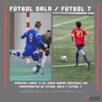 Campeonatos de fútbol sala y fútbol 7