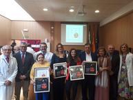 Distinguen a las entidades colaboradoras en el proyecto de humanización de las Urgencias del Hospital