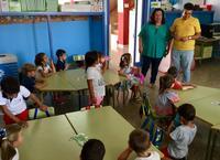 Alumnado del colegio Ramón y Cajal