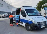 Ambulancia en el Hospital