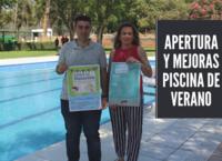 El concejal de Deportes informa sobre las mejoras realizadas en la piscina del Polideportivo