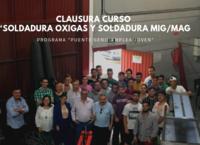 Clausura Curso Soldadura Oxigas y Soldadura Mig Mag