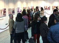 Exposición de fotografías de las homenajeadas